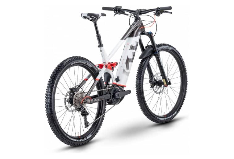 Confort et sécurité du vélo à assistance électrique VTT Husqvarna Moutain Cross 4