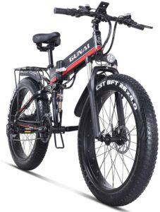 vélo à assistance électrique VTT Gunai