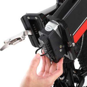 Une batterie puissante de 48 volts sur le Gunai VTTAE Fatbike