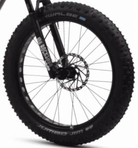 roue avant du Fantic Fat Integra Sram SX EAGLE