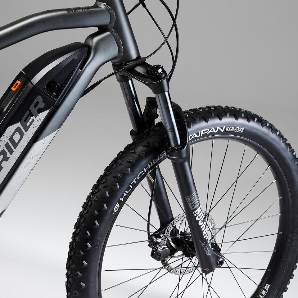 Rockrider E-ST 900 suspensions