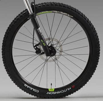 Rockrider E-ST 520 - les roues
